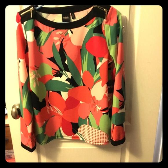 Rafaella Tops - Multicolor designer blouse